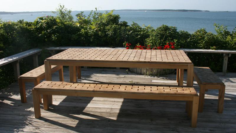 PTACEK Home Outdoor Hamptons table